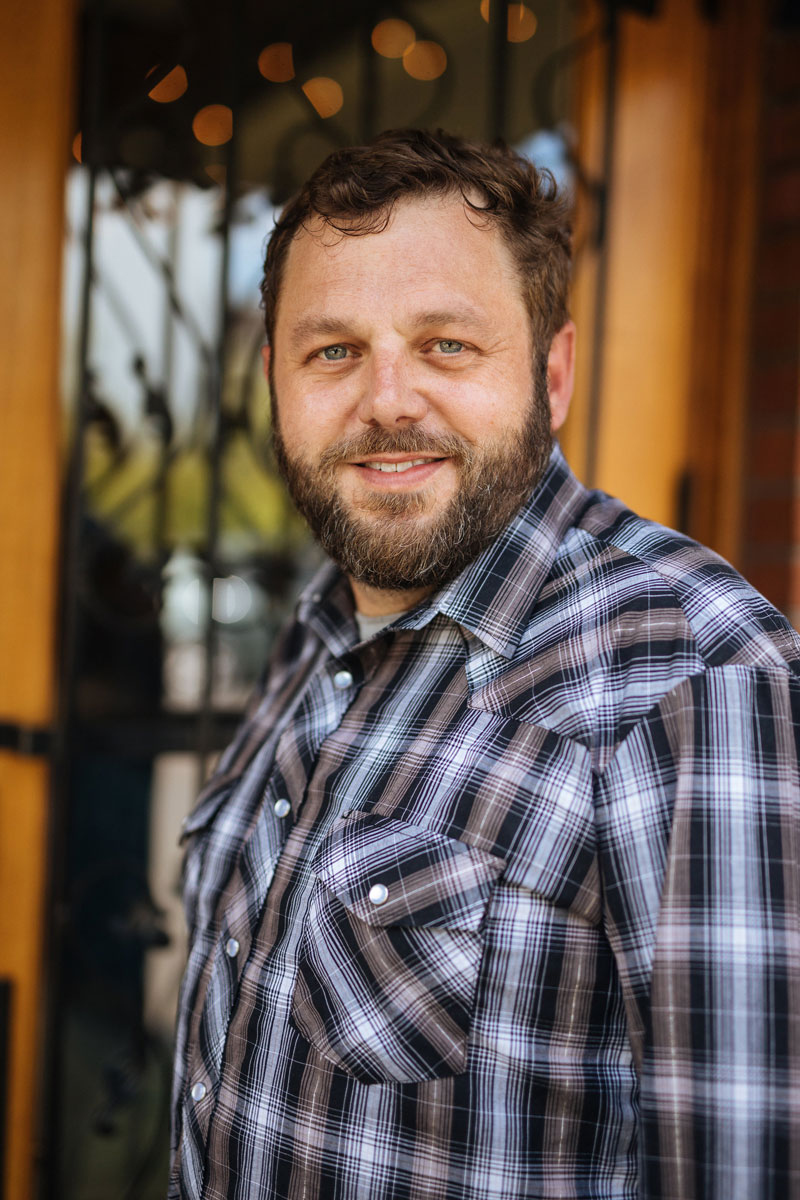 Drew Voit, Winemaker at Elizabeth Chambers Cellar